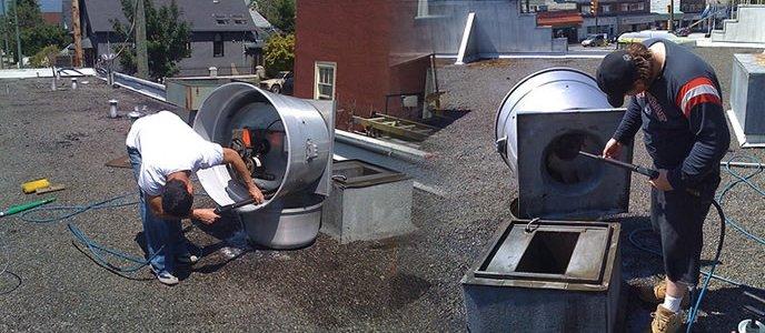 Mechanische ventilatie reinigen